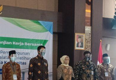 Hari ini, Mou BLK Komunitas Tahap 2 Kemenaker Dilakukan Di Purbalingga
